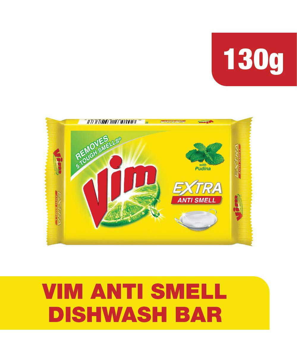 Vim Anti Smell Bar 130g+20g Free