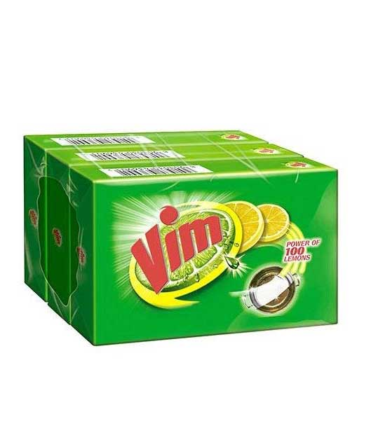Vim Dishwash Bar - 300g (Pack of 3)