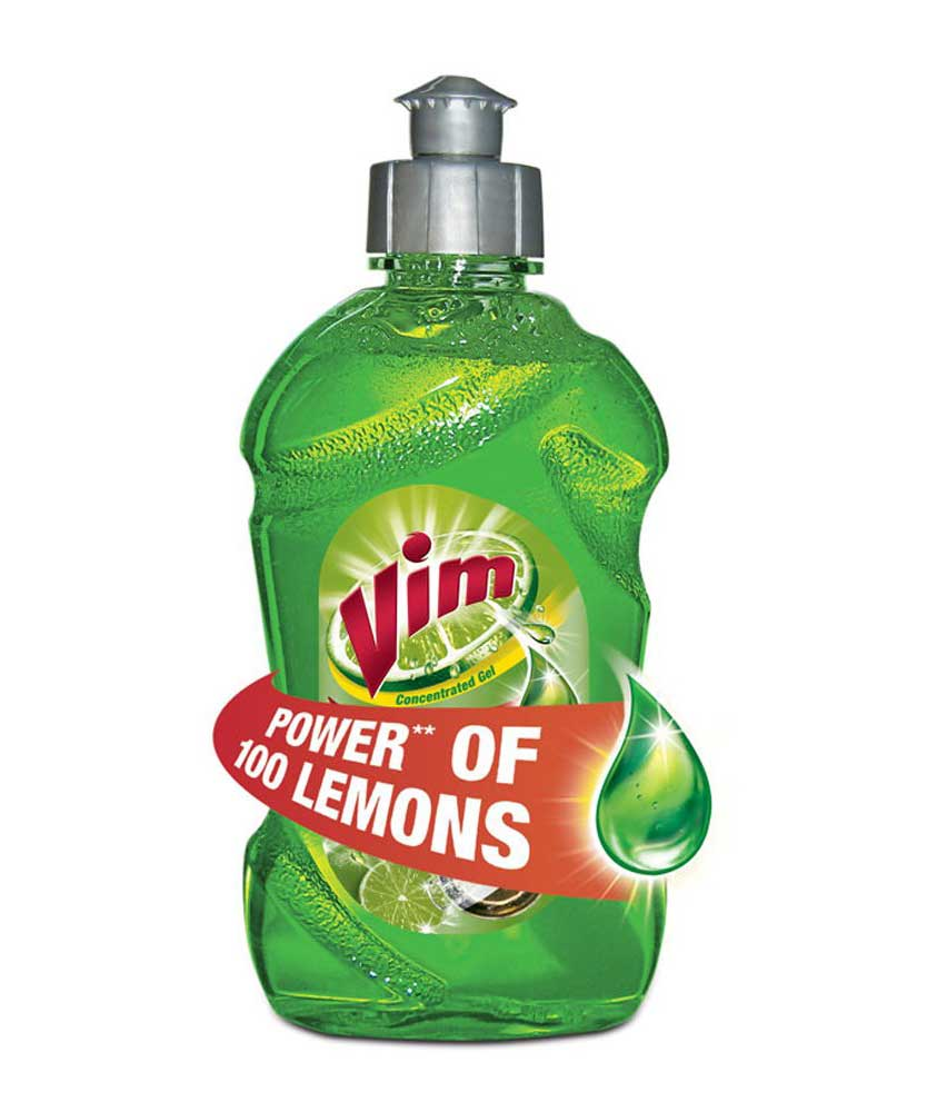 Vim Liquid Green Bottle - 250 ml