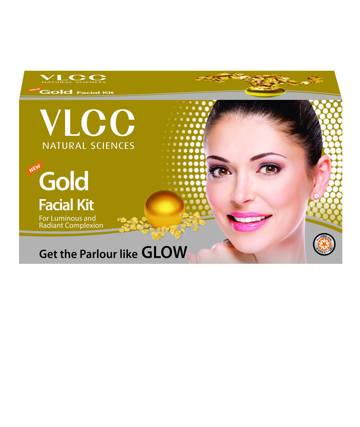 VLCC Gold Facial Kit 60g