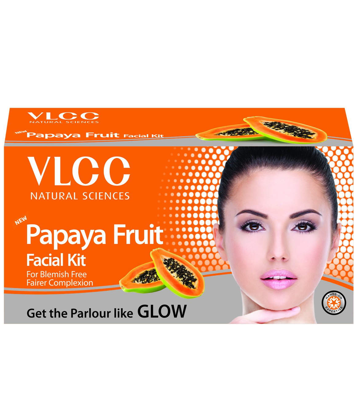 VLCC Papaya Fruit Facial Kit 60g