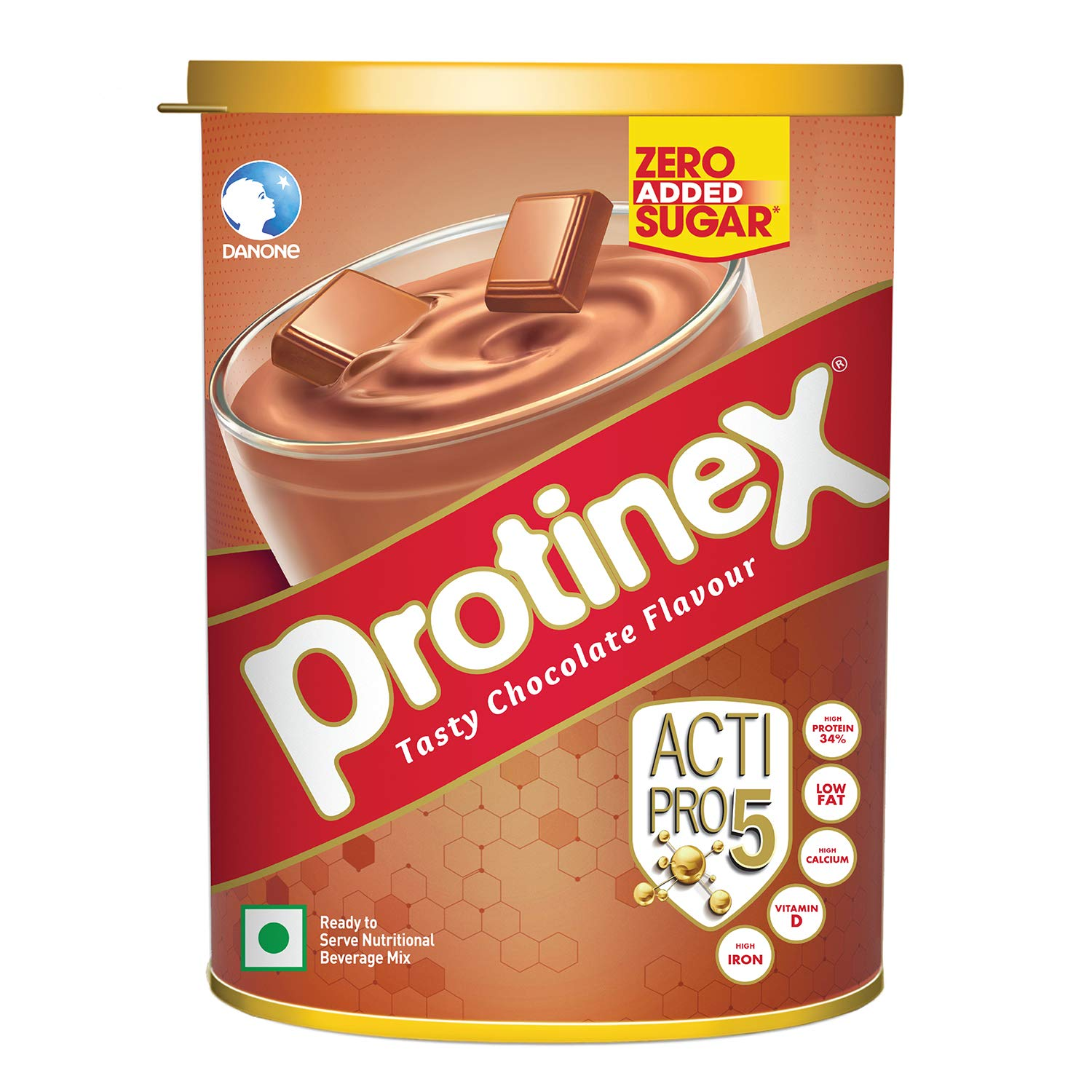 Protinex Health And Nutritional Drink Mix For Adults with High protein & 10 Immuno Nutrients, Tasty Chocolate, 400gm