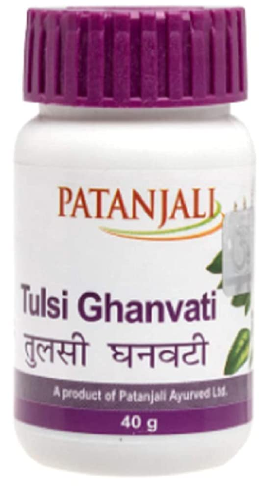 Patanjali Tulsi Ghan Vati, 240 Tab (3 x 80)