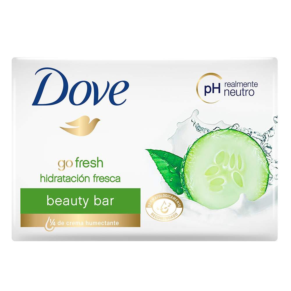 Dove Go Fresh FRESH TOUCH Beauty Bar, 135gm  (Pack of 3)