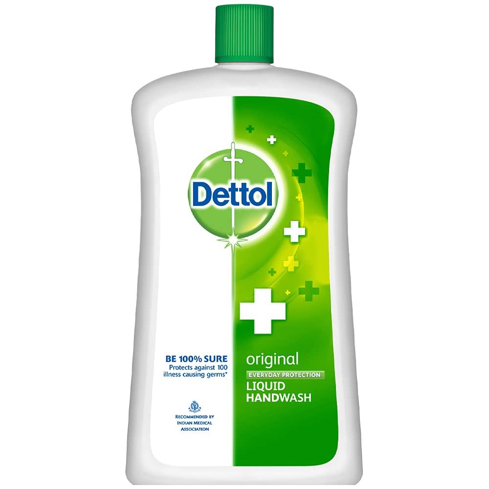 Dettol Original Germ Protection Handwash Liquid Soap Refill Jar, 900 ml