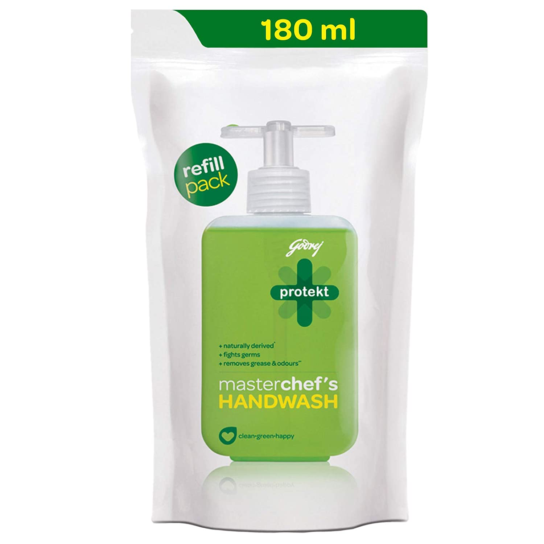 Godrej Protekt Masterchef's Liquid Handwash Refill - 180ml