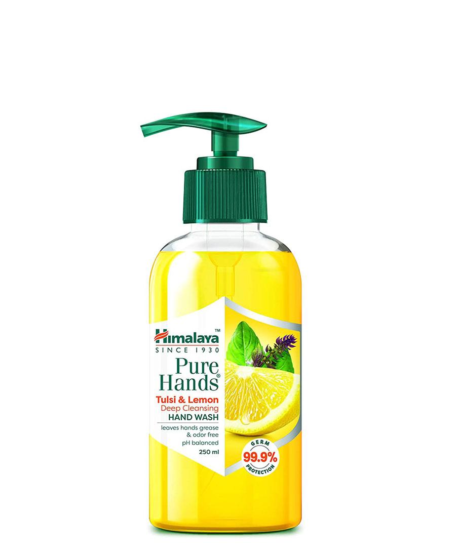 Himalaya Pure Hands Deep Cleansing Tulsi and Lemon Pump 250 ml