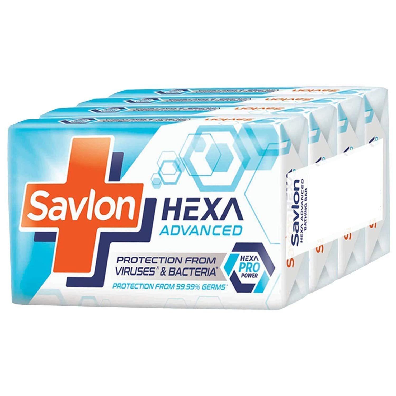 Savlon Hexa Advanced Soap, 75 gm [Pack of 4]