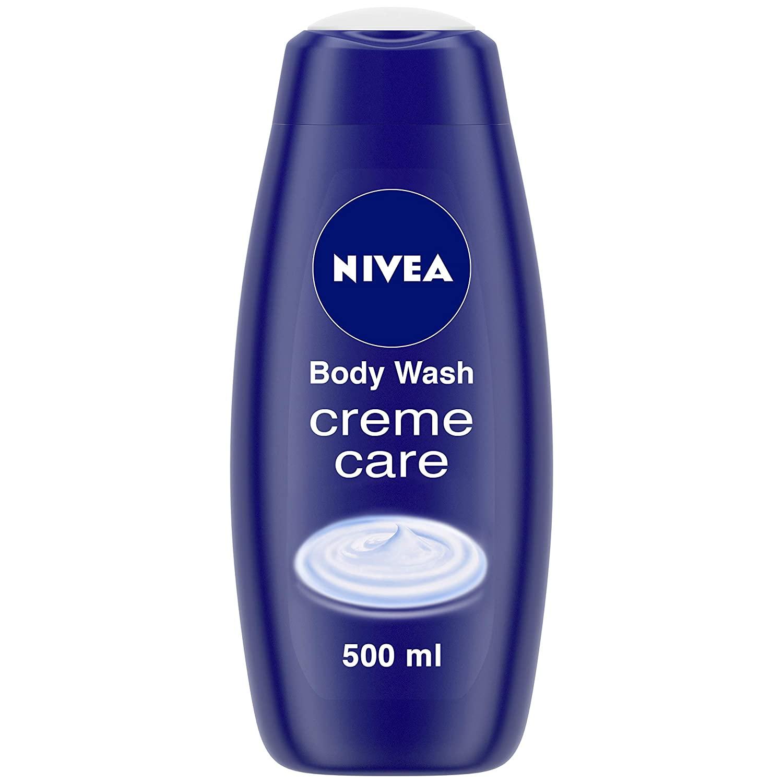 NIVEA Women Body Wash, Crème Care Shower Gel for Soft Skin, 500 ml