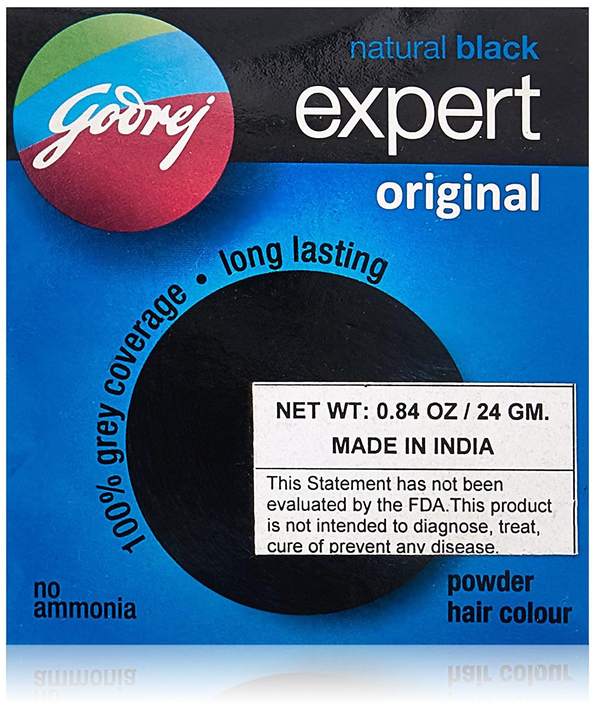 Godrej Expert Original Powder Hair Colour (Box of 8)