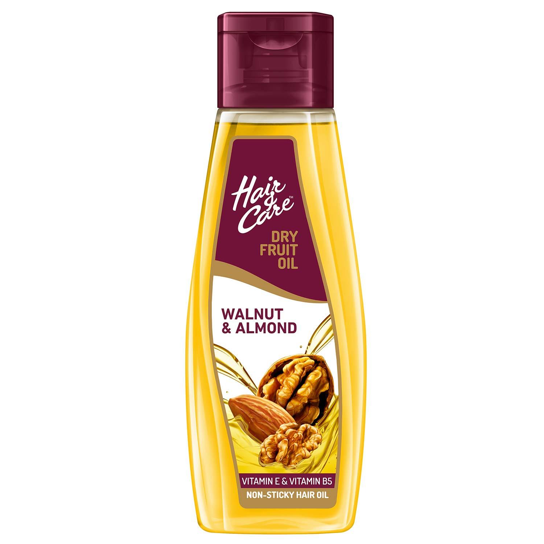 Hair & Care with Walnut & Almond,Non-Sticky Hair Oil, 300 ml