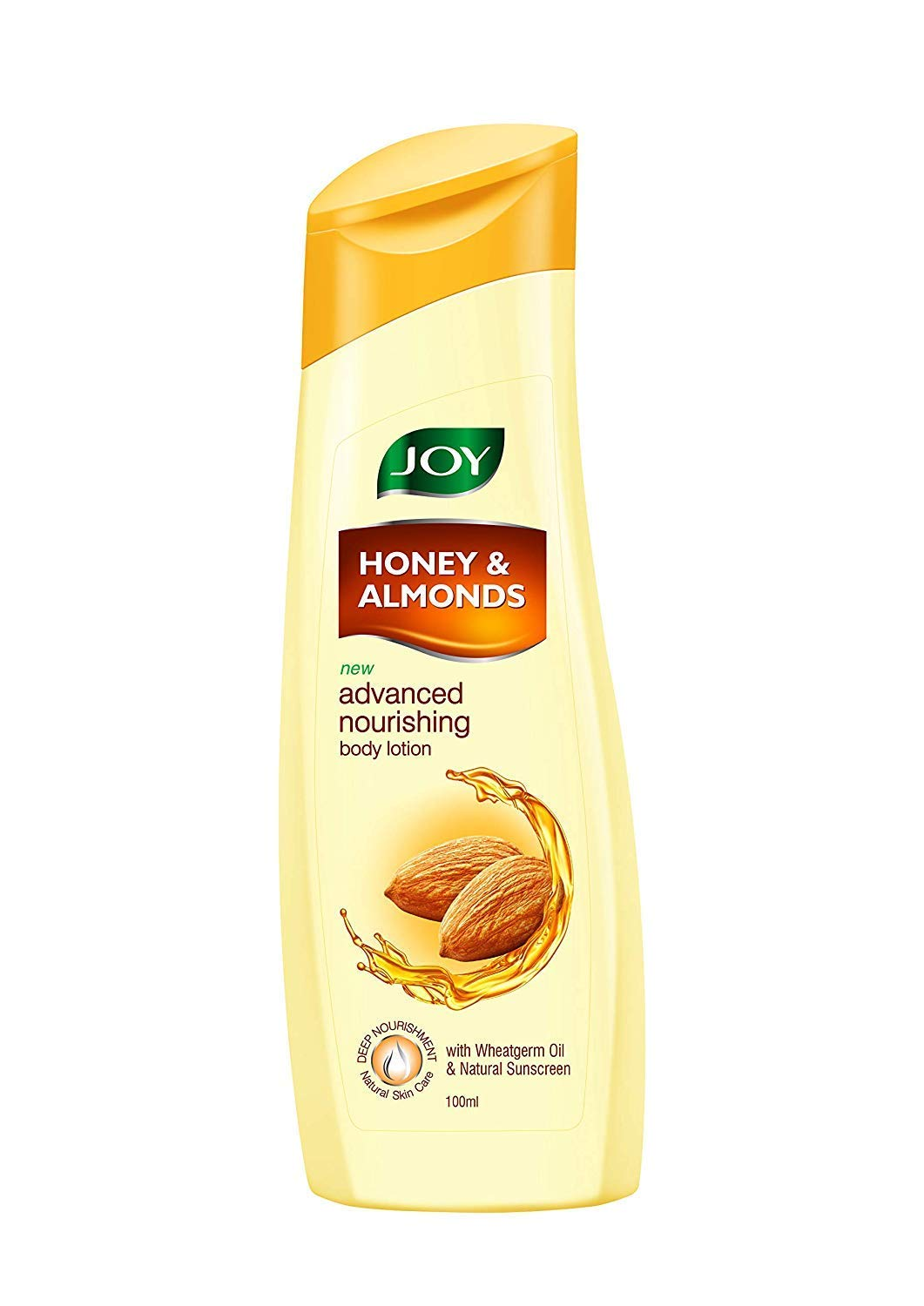JOY Honey and Almonds Advanced Nourishing Body Lotion for Normal to Dry skin - 100ml