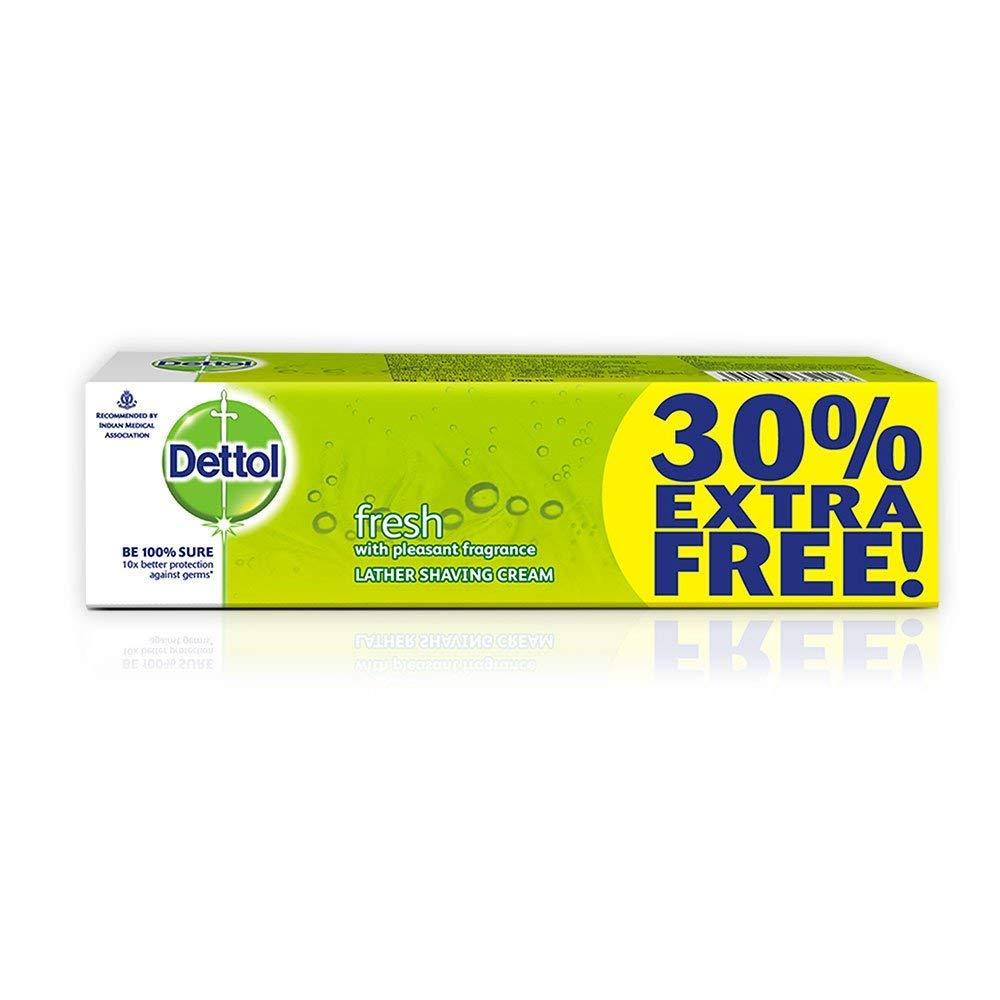Dettol lather shaving cream 60gm+18gmfree=78gm