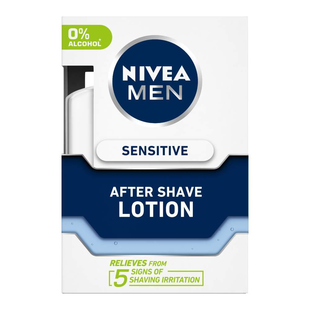 NIVEA MEN Shaving, Sensitive After Shave Lotion, 100ml