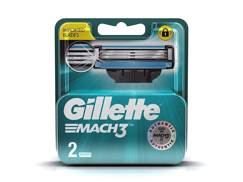 Gillette Mach 3 Manual Shaving Razor Blades - 2s Pack (Cartridge)