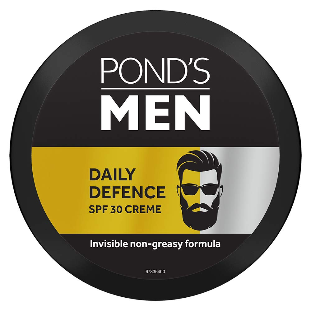 PONDS Men Daily Defence SPF 30 Face Creme Sunscreen Non-Greasy, 55 gm