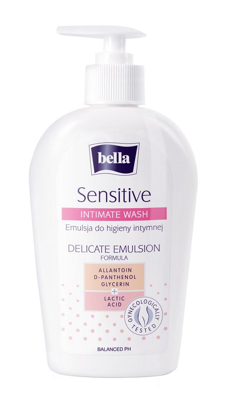 Bella Sensitive Intimate Wash Delicate Emulsion, 300 Ml