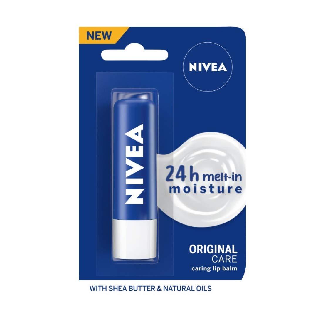 Nivea Original Care Lip Balm, 4.8gm
