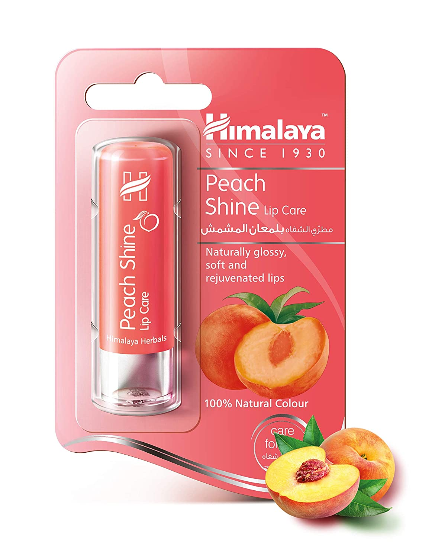 Himalaya Peach Shine Lip Care, 4.5gm
