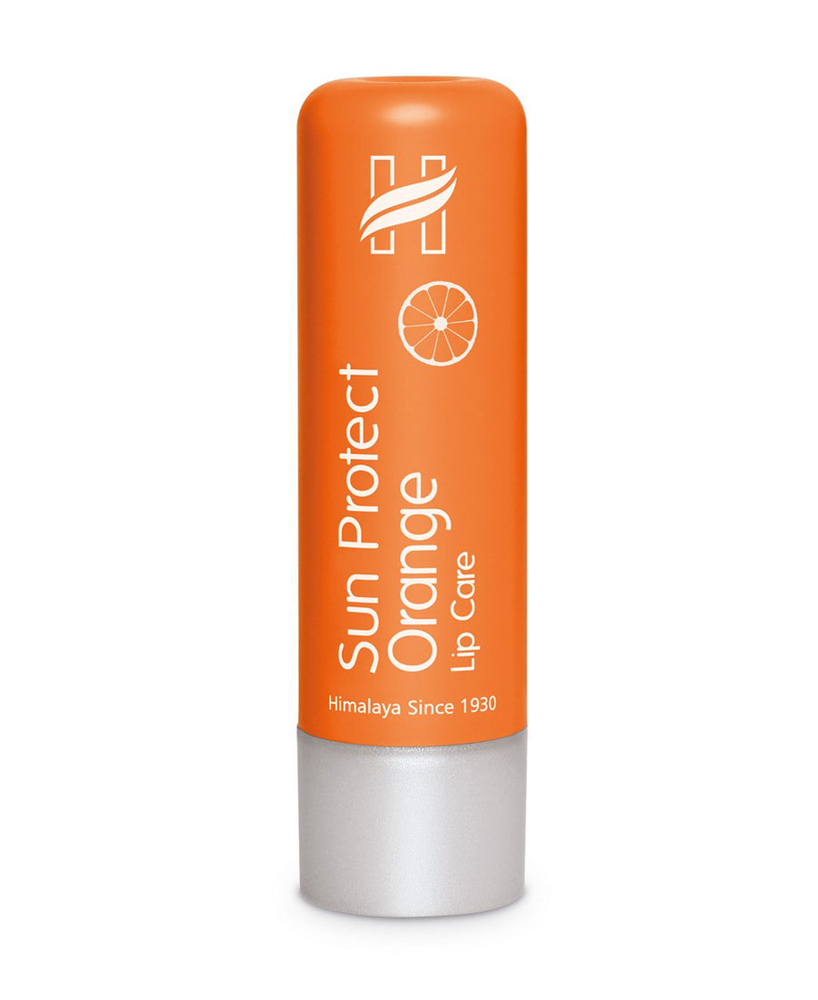 Himalaya Sun Protect Orange Lip Care - 4.5 gm