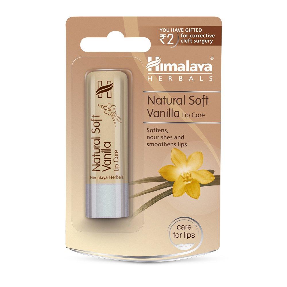 Himalaya Natural Soft Vanilla Lip Care, 4.5gm