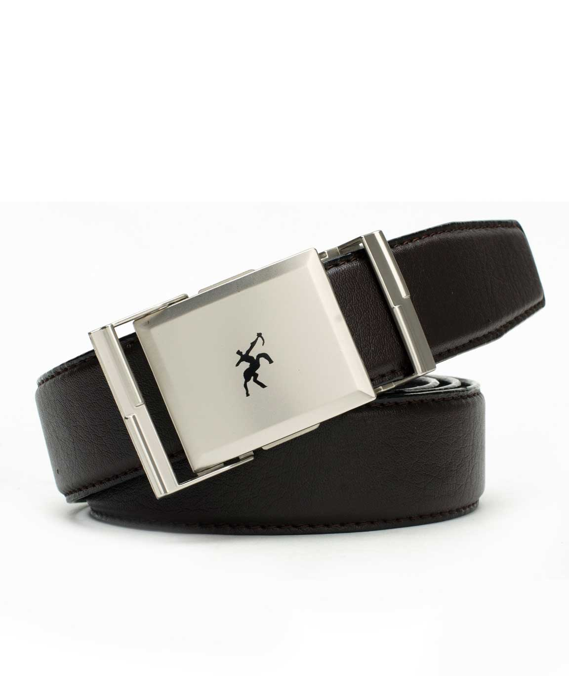 Winsome Deal Brown Leather Formal Belt For Men`s