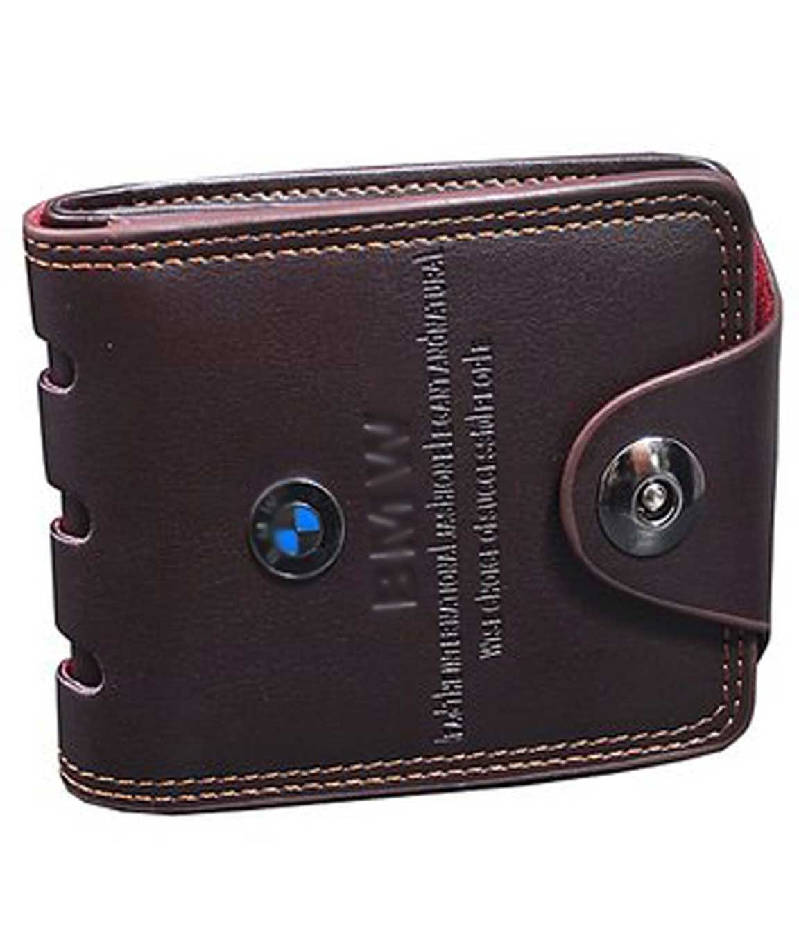 Winsome Formal Brown Wallet at lowest Price