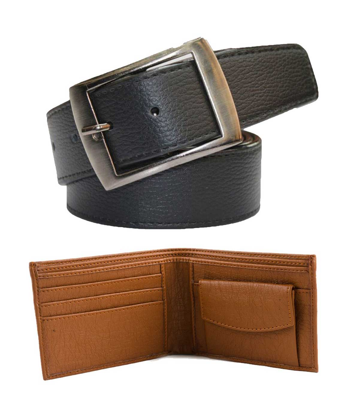Winsome Multi Colur Money Saver Combo of Belt and wallet