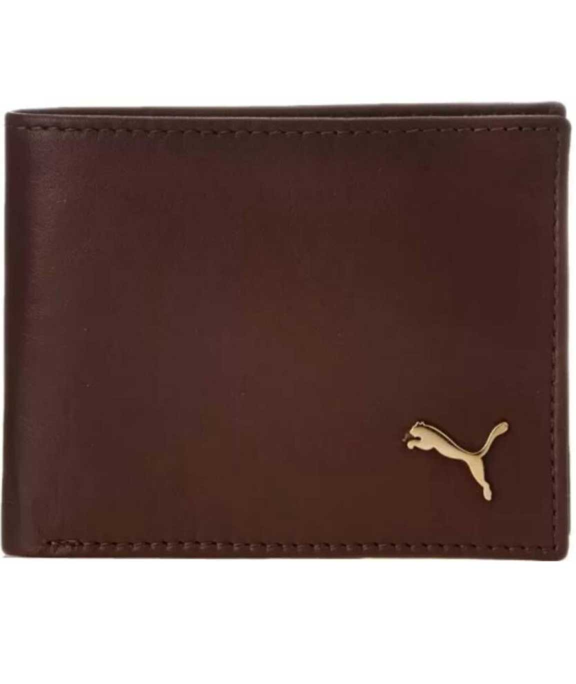Winsome Stylish Brown Wallet at lowest Price