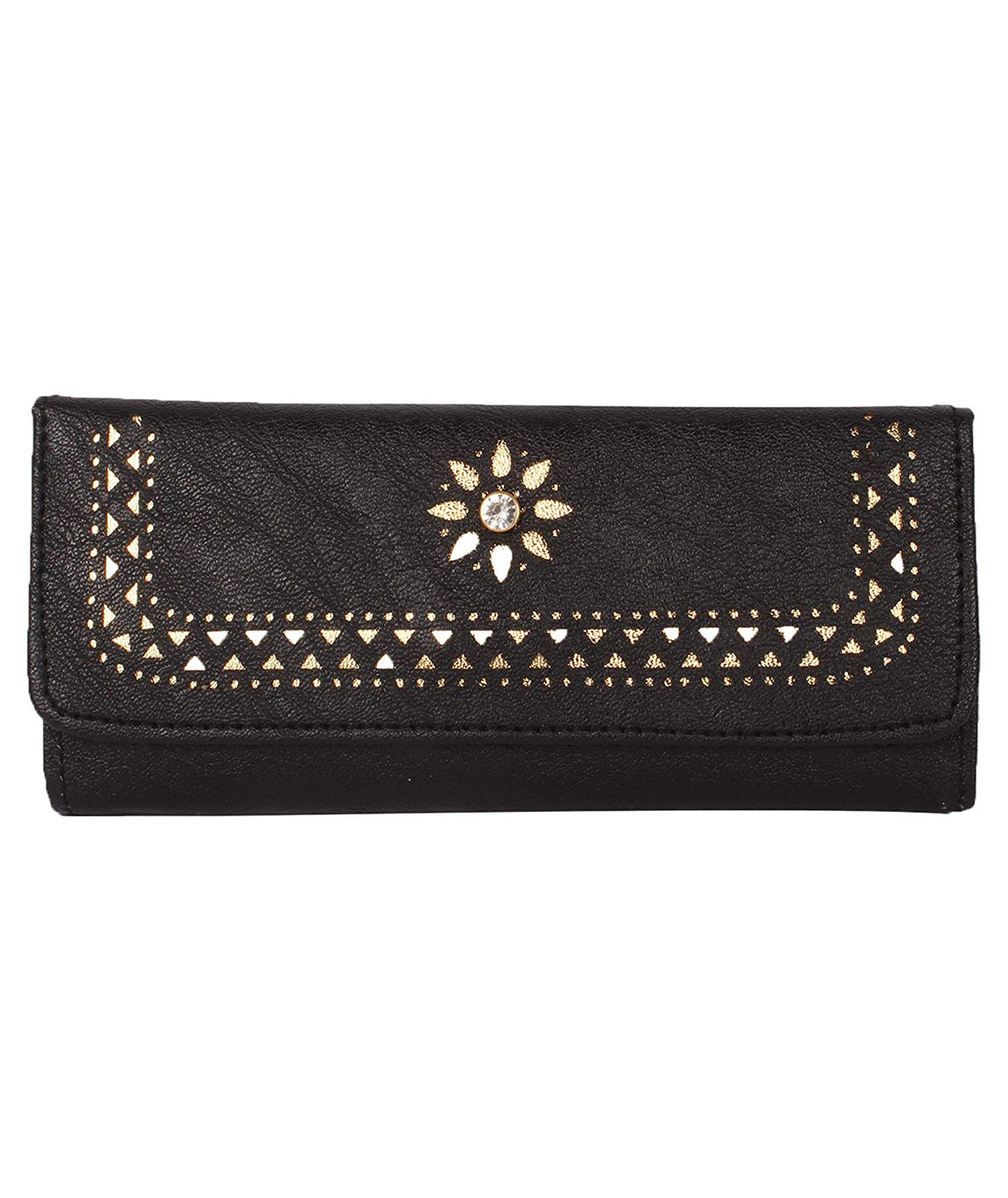 Women Girls Leather Wallets Lady Fashion Long Purse Handbag Women`s Clutches/Genuine Leather Wallet/Purse For Women and Girls(black)