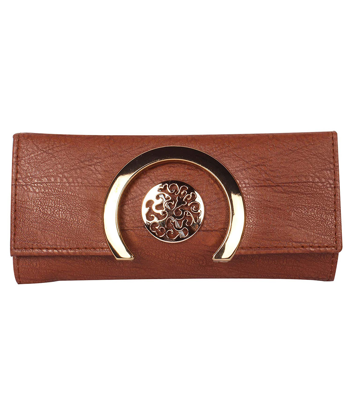Women Girls Leather Wallets Lady Fashion Long Purse Handbag Women`s Clutches/Genuine Leather Wallet/Purse For Women and Girls(dark brown)