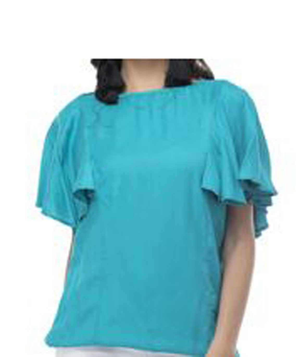 Women Stylish Top(Blue)