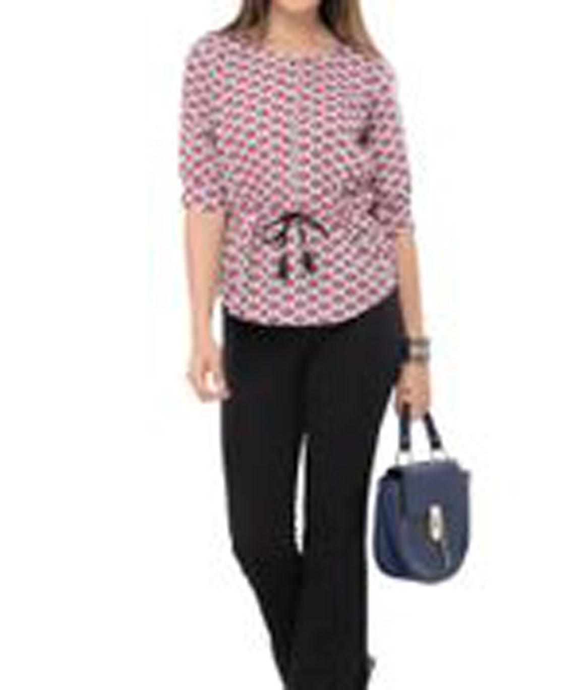 Women Stylish Top(Pink)