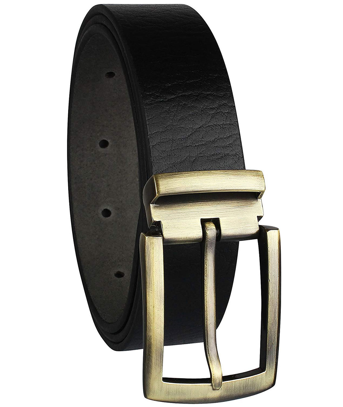 ZORO formal/casual black genuine leather belts for mens- 1 year guarantee, Gift for gents