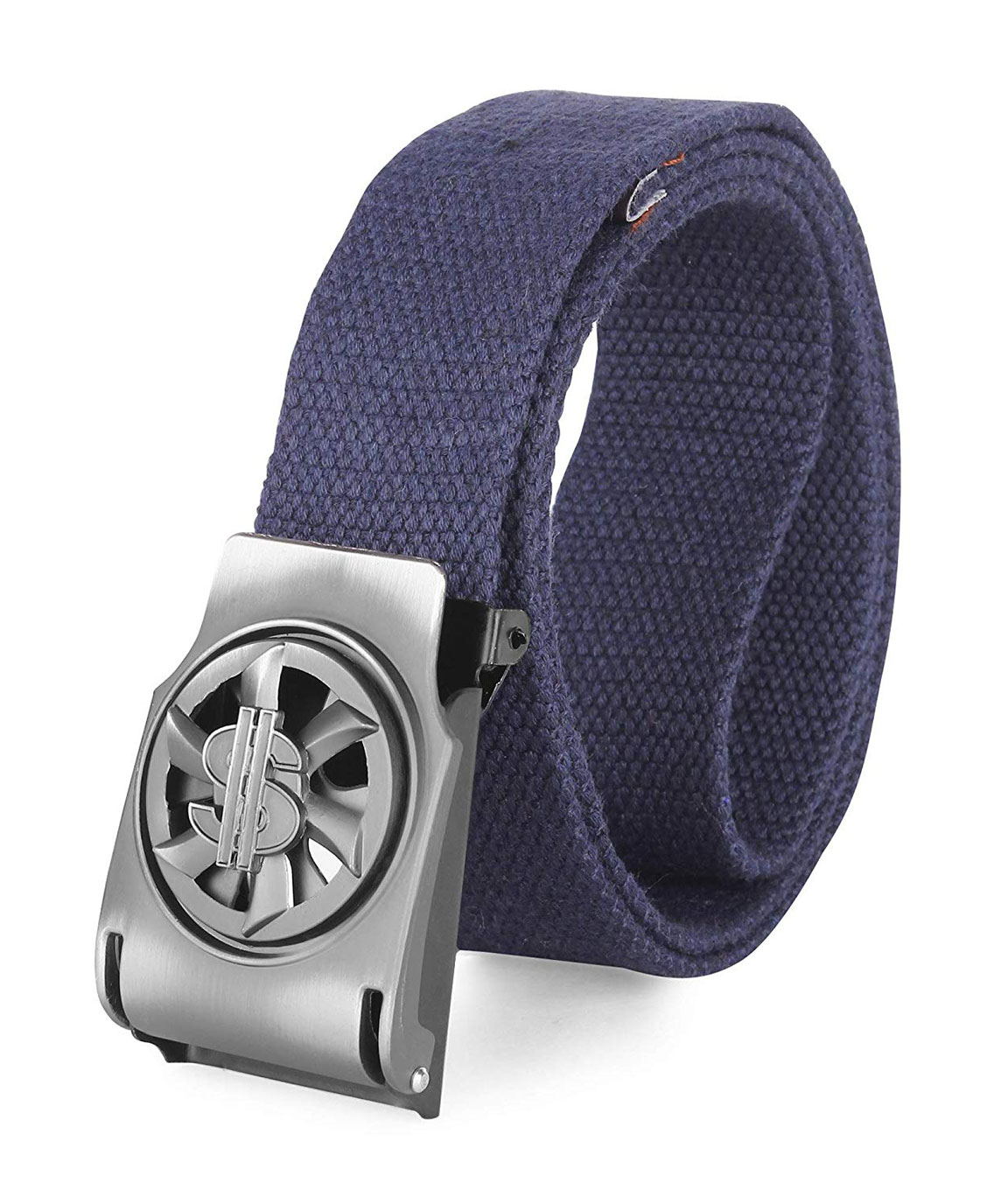 ZORO Men`s cottan Black Belt Guarantee) - belts for mens - belts for men casual stylish - belts for men formal branded