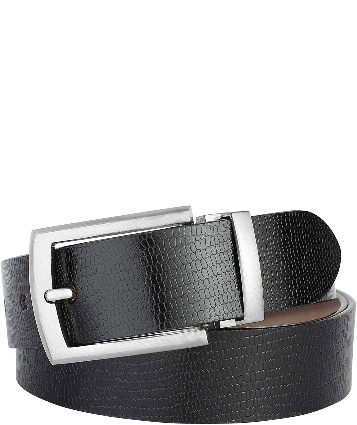 ZORO Men`s Genuine Leather Belt, (1 Year Guarantee) - belts for mens - belts for men casual stylish leather- belts for men formal branded, mens belt, black and brown belt, formal belt RT-04