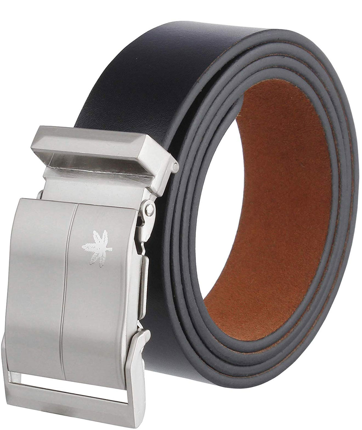 ZORO Men`s Genuine Leather Belt, (1 Year Guarantee) - belts for mens - belts for men casual stylish leather- belts for men formal branded, mens belt, brown belt, formal belt with army buckle