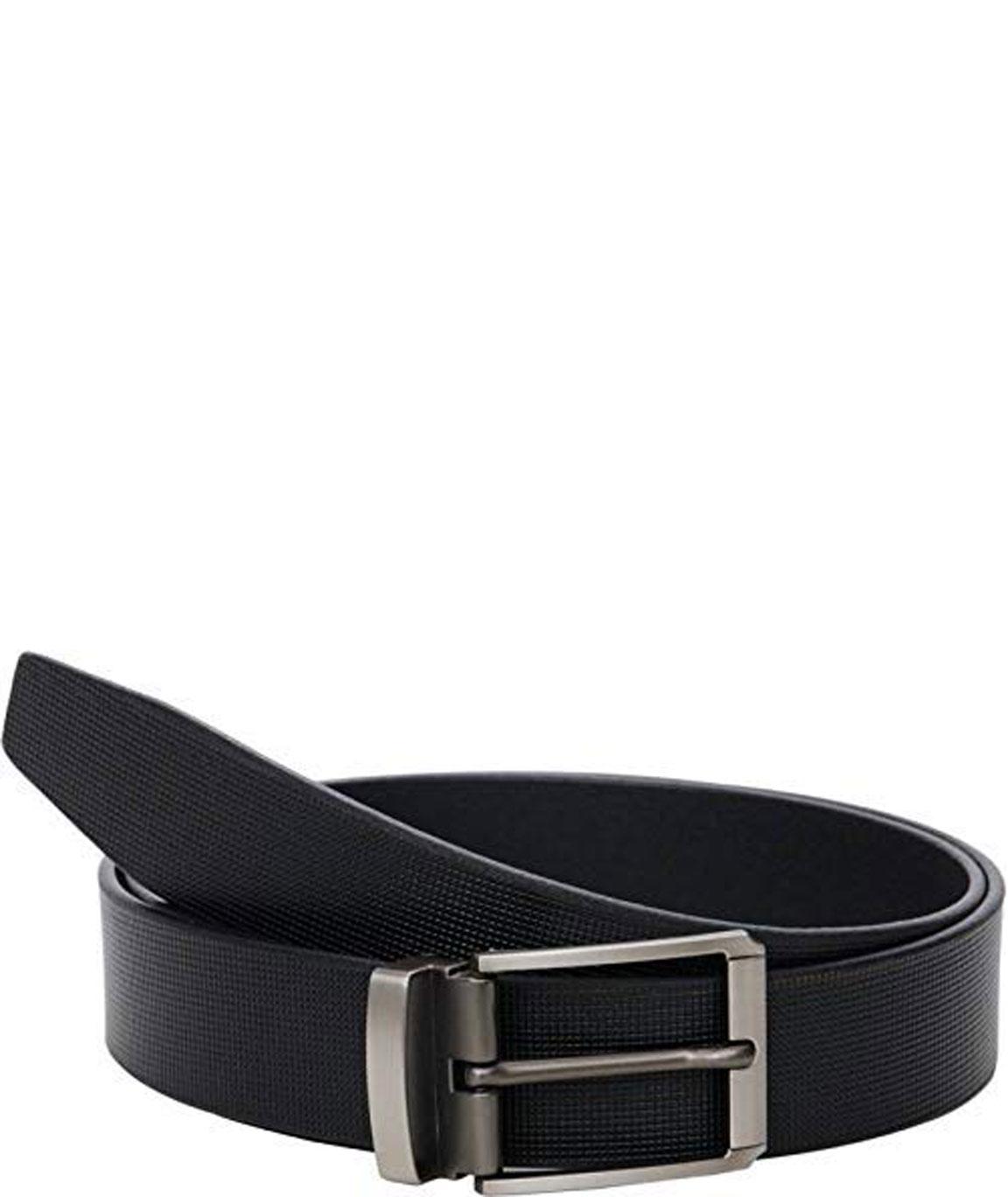 ZORO Men`s Genuine Leather Black Belt-1 Year Money back Guarantee-belts for mens-leather belt for men formal branded-genuine leather belt for men SQBR-09