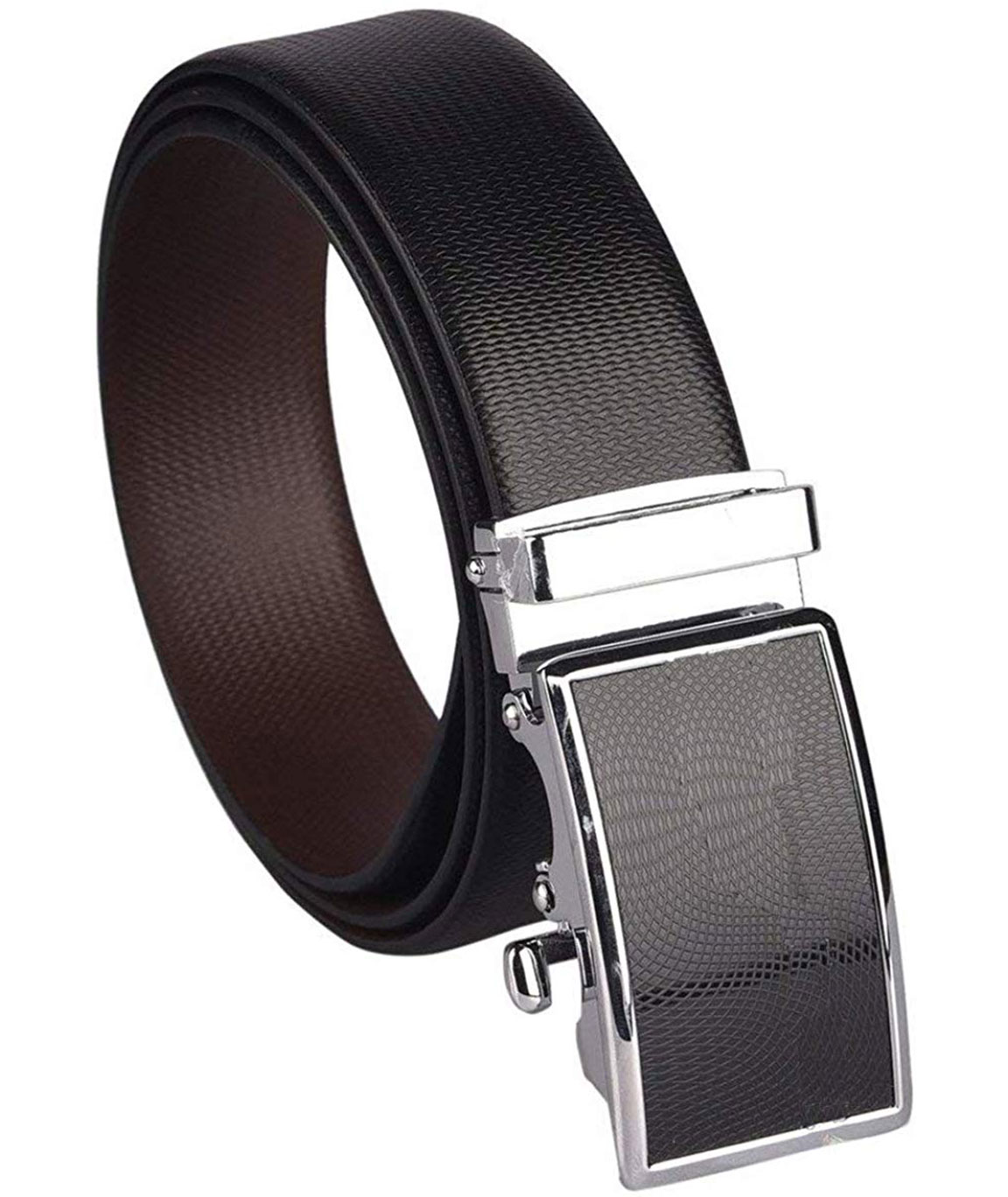 ZORO Men`s Genuine Leather Italian Reversible Belt, Black and Brown, (1 Year Guarantee) - belts for mens - belts for men casual stylish leather- belts for men formal branded RSIHY-13G-